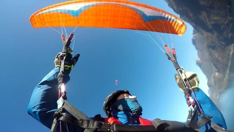 Joven youtuber español muerte trágicamente tras intentar grabar un salto en paracaídas