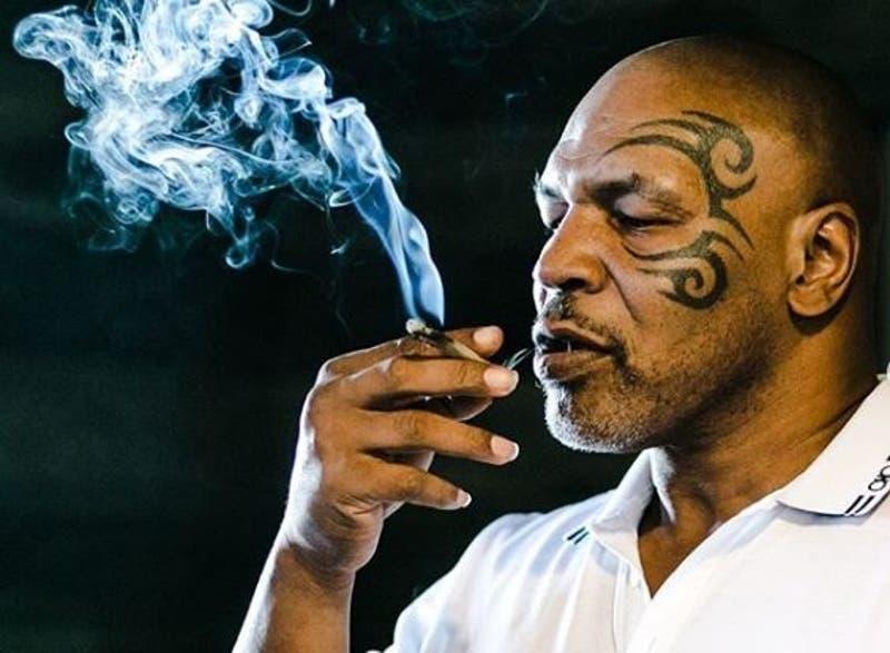 Mike Tyson asegura fumar más de 40 mil dólares de marihuana al mes