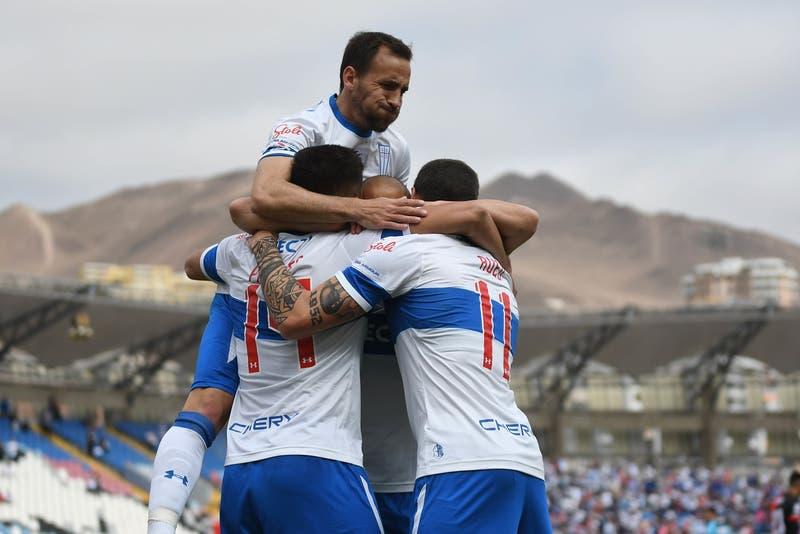 Diego Valencia fue el héroe en agónica victoria de Universidad Católica ante Antofagasta