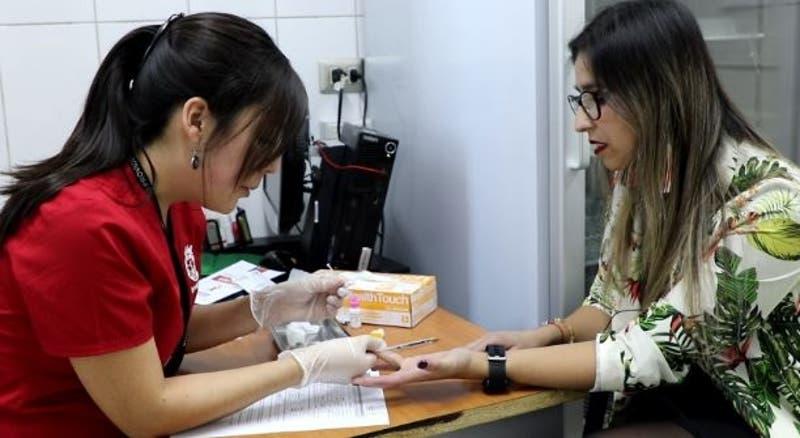 Vivencial de toma de Test rápido de VIH