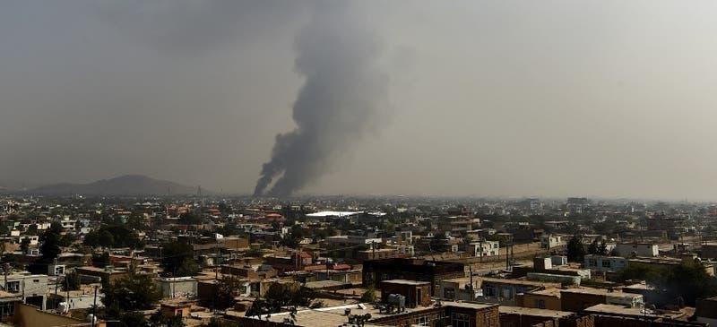 Registran explosión cerca de la embajada de EEUU en Afganistán
