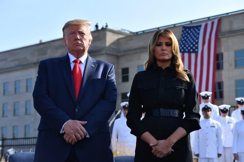 """Trump promete golpear """"más duro"""" que nunca a talibanes en aniversario del 11/9"""