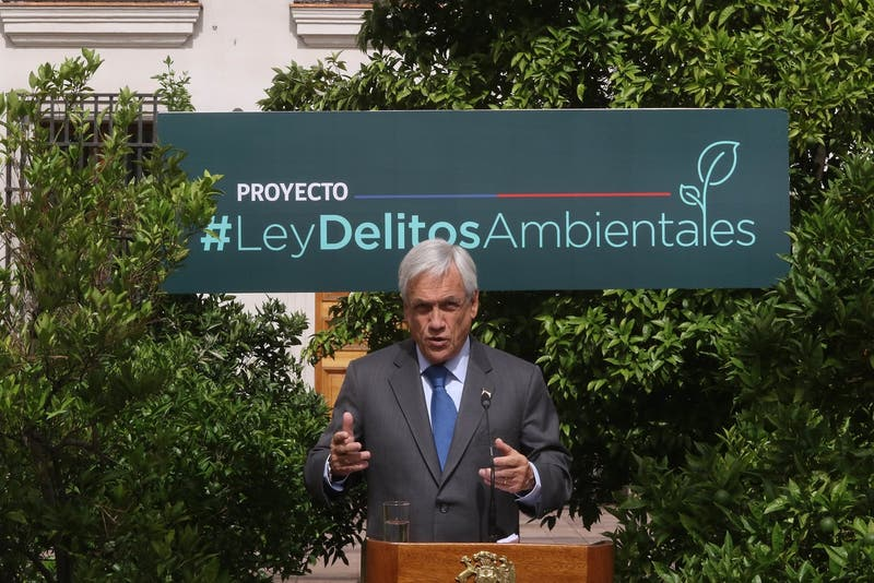 "Greenpeace pone en duda el ""Global Citizen Award 2019"" a Piñera por su rol contra crisis climática"