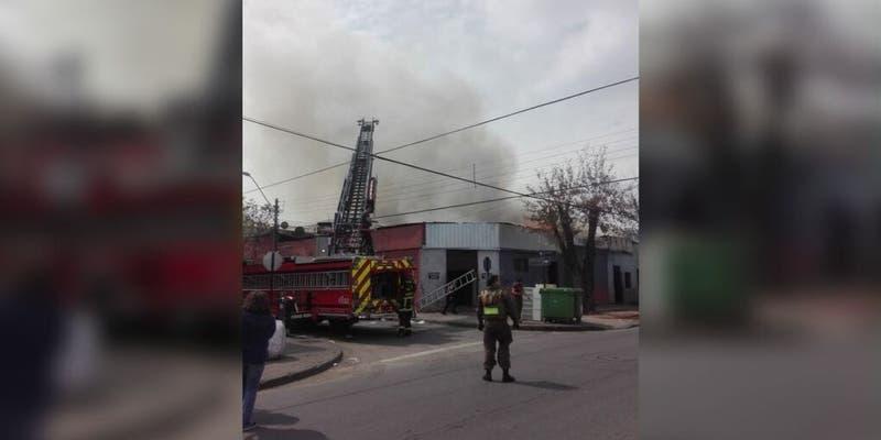 Reportan incendio en vivienda de Barrio Franklin