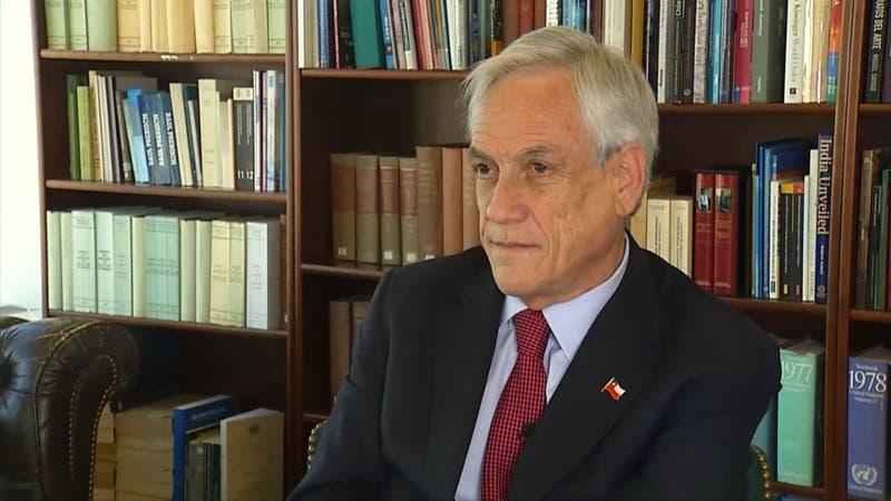 """Piñera sobre acusaciones de OAS a Bachelet: """"No tenemos antecedentes para dudar de su palabra"""""""