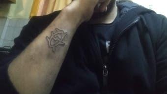 El Conmovedor Tatuaje De Futbolista Con Un Mensaje De Su Hijo Tele 13