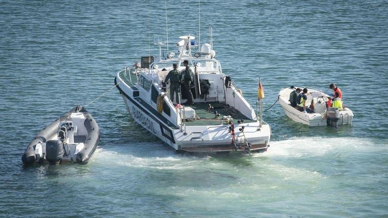 Narcotraficantes rescatan del mar a agentes españoles en medio de una persecución