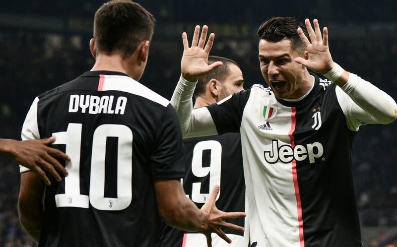 El coqueto gesto de Cristiano Ronaldo que sorprendió a Paulo Dybala