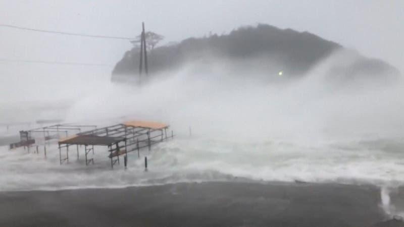 ''Hagibis'', el peor tifón en 60 años en Japón