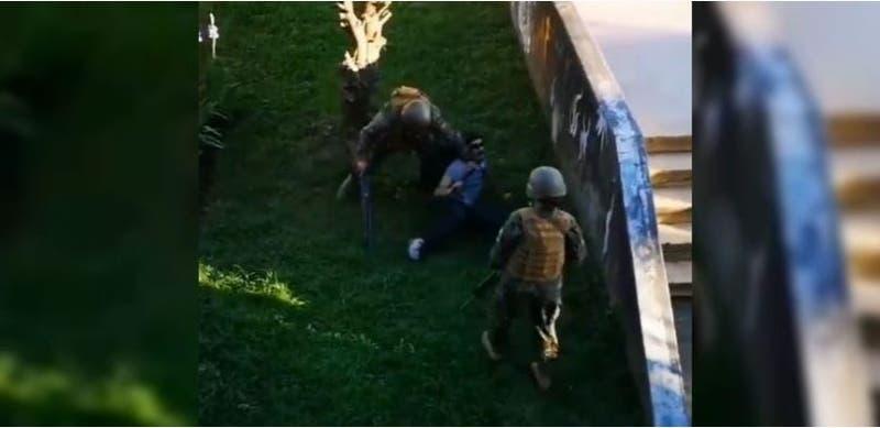 Detienen a militar que disparó a quemarropa contra una persona en Concepción