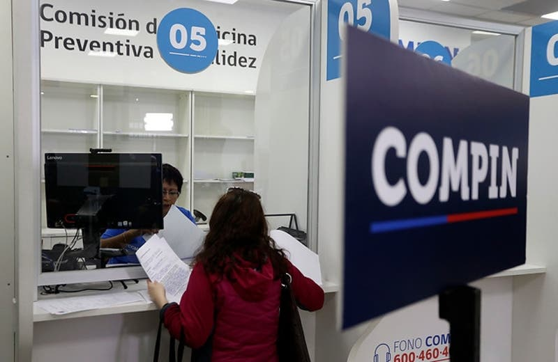 Oficinas de Compin recibirán licencias médicas fuera de plazo y en cualquier oficina del país