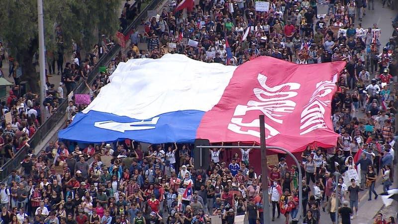 [VIDEO] La marcha que impactó a Chile y el mundo