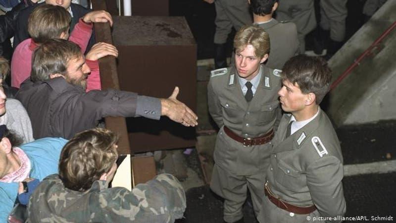 El día que cayó el muro de Berlín
