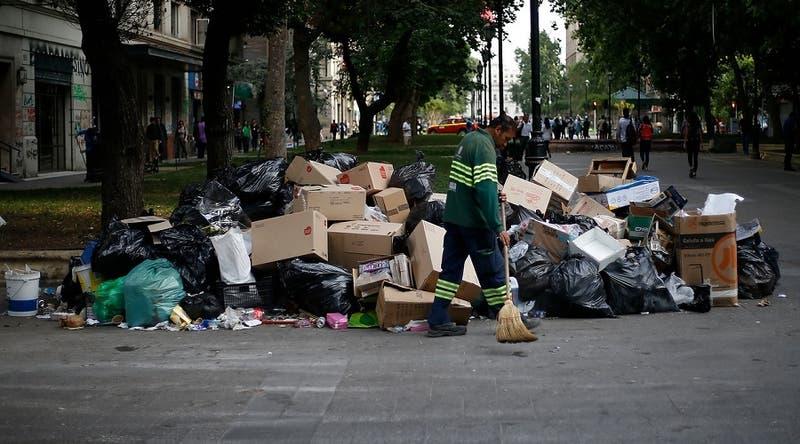 Paro de recolectores: Revisa las comunas sin retiro de basura