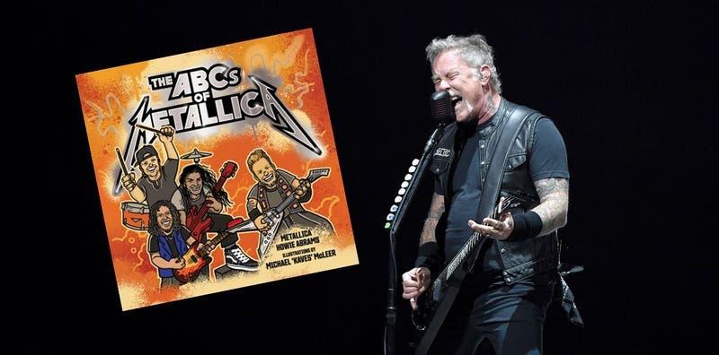 'The ABCs of Metallica': Un libro para niños y aficionados