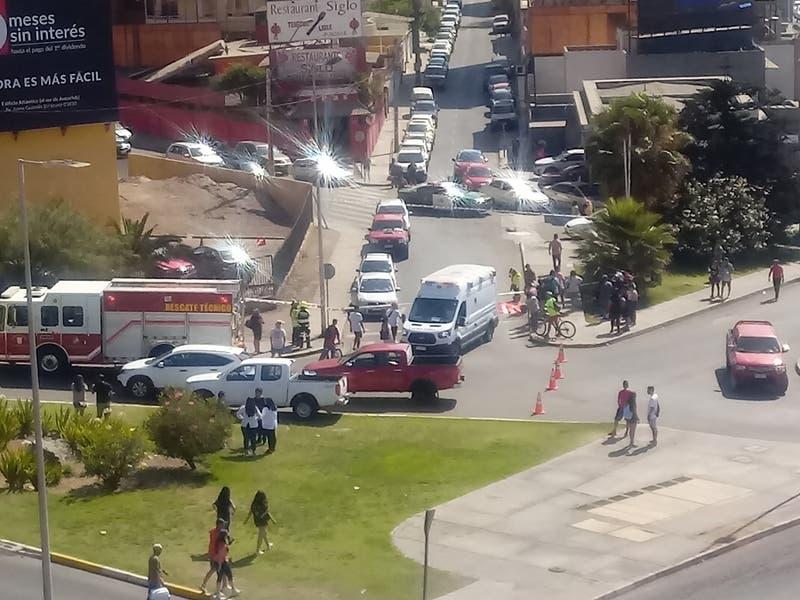 Atropello múltiple en Antofagasta deja un fallecido y dos heridos
