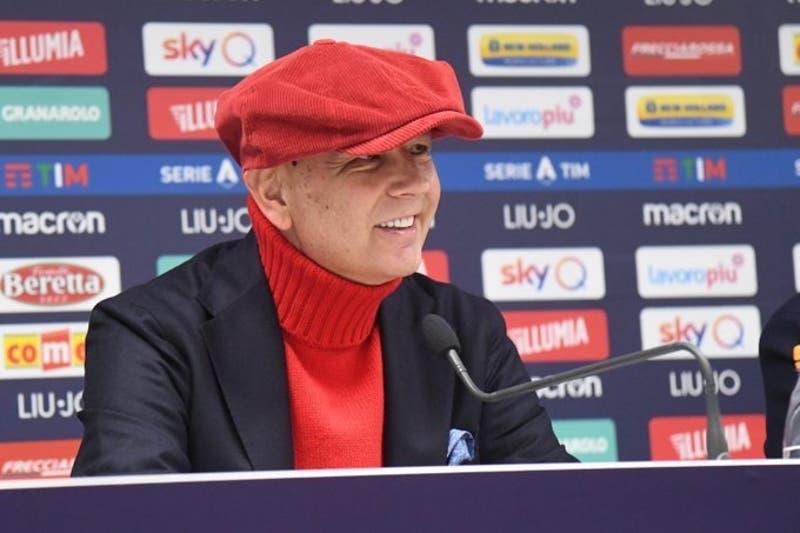 Mihajlovic anuncia que está libre de leucemia en conferencia