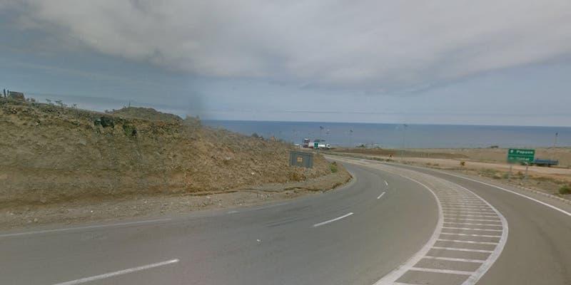 Cómo es la Ruta B-710 donde se desbarrancó el bus en Taltal