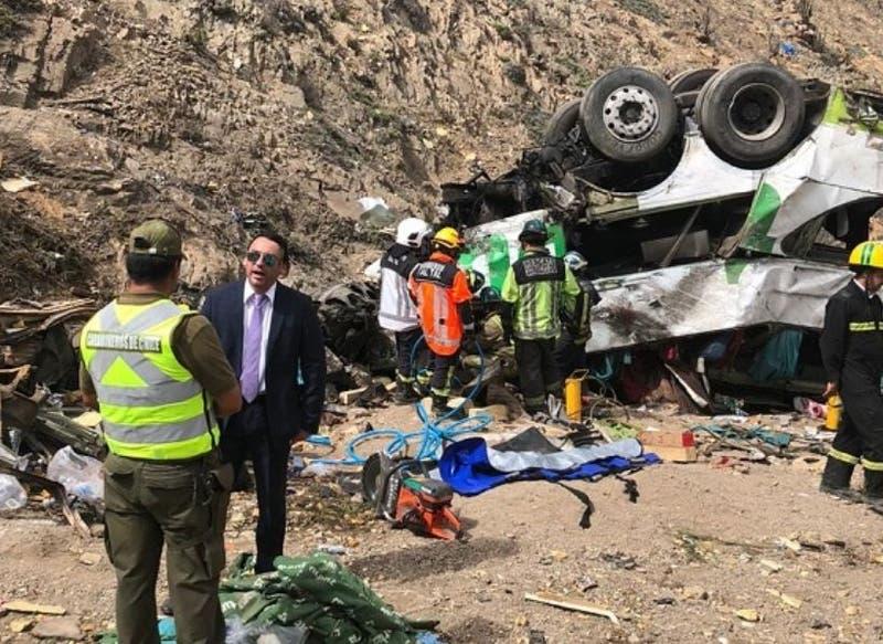 """Sobreviviente de accidente en Taltal: """"Uno tenía el presentimiento que podía volcar"""""""
