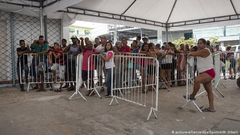 Brasil concede refugio a 21.432 personas venezolanas en un mismo día