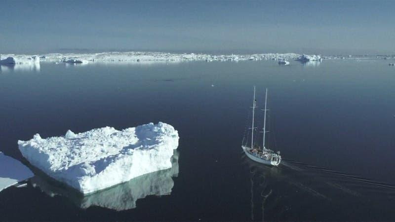[VIDEO] Groenlandia se derrite a velocidad récord