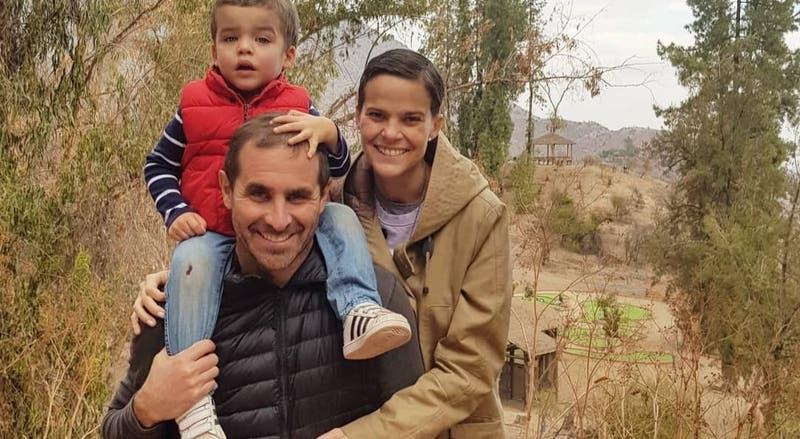 """""""Días de mucha nostalgia y pena"""": Viudo de Javiera Suárez la recordó con tierna foto navideña"""