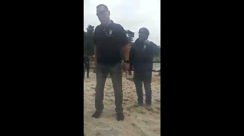 Imagen del video denuncia