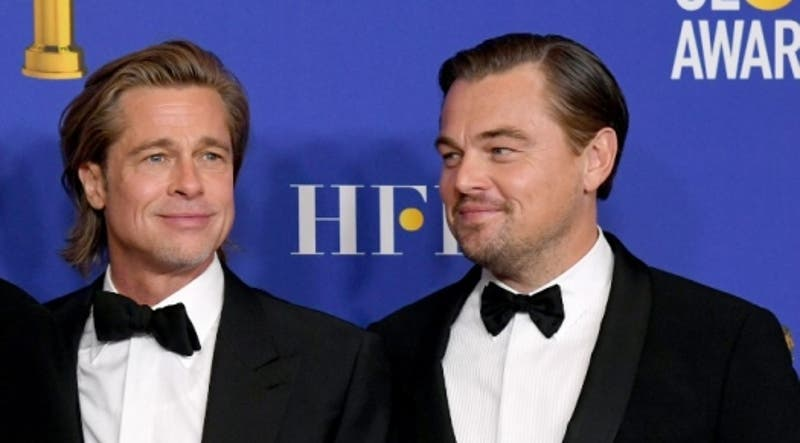 Globos de Oro 2020: El trolleo de Brad Pitt a Leonardo DiCaprio con el final de Titanic