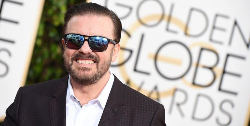 Globos de Oro: Ricky Gervais incendia los premios con monólogo