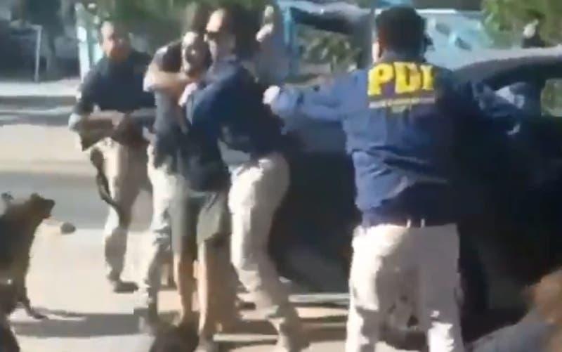 PDI desmiente que hayan trasladado a joven detenido en la maleta del auto institucional
