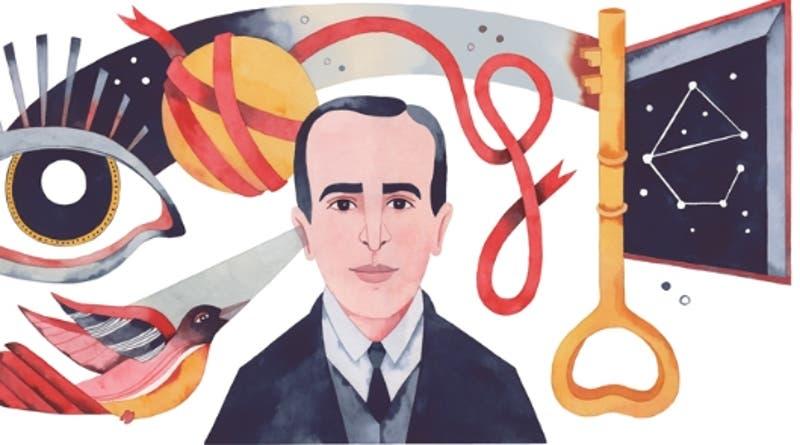 """""""El poeta es un pequeño Dios"""": Google celebra a Vicente Huidobro a 127 años de su nacimiento"""