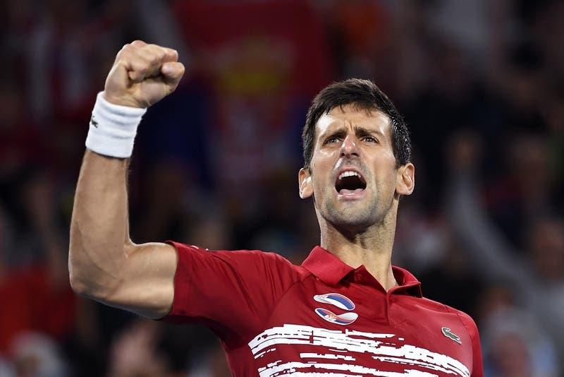 Djokovic derriba a Nadal y la final de la ATP Cup se decidirá en el dobles