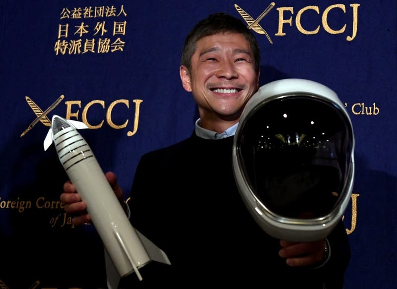 Multimillonario japonés inició concurso para buscar al amor de su vida y viajar juntos a la luna