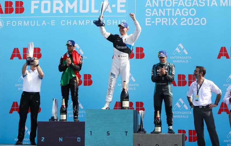 Alemán Maximilian Günther se queda con el Santiago E-Prix en un emocionante final