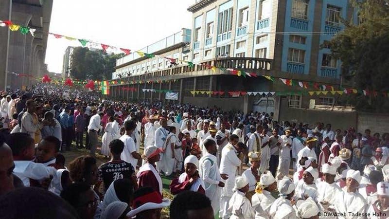 Diez fallecidos por un derrumbe durante fiesta religiosa en Etiopía