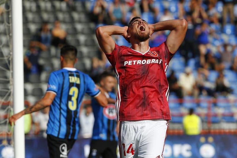 Universidad de Chile debuta con derrota en el Campeonato Nacional