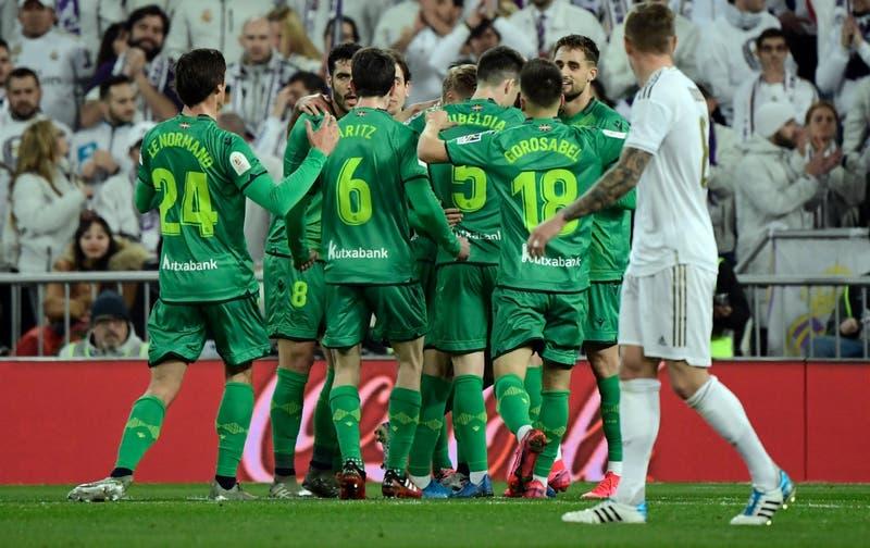Real Sociedad golpea al Real Madrid en el Bernabéu y se mete en semifinales de la Copa del Rey
