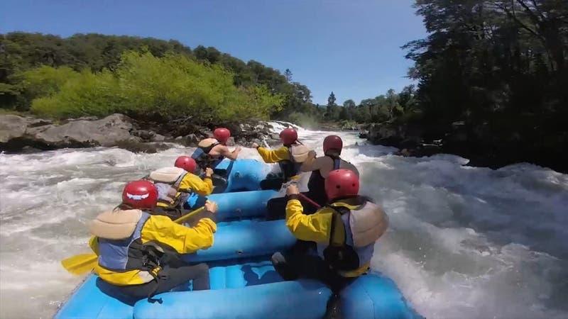Veraneo a orillas del río en Carahue