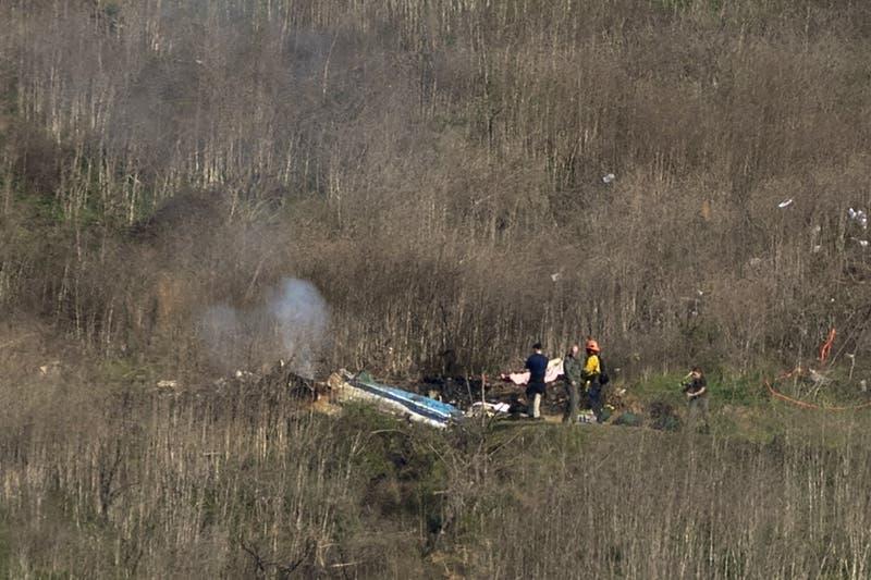 Autoridades descartan falla mecánica en accidente en helicóptero en que murió Kobe Bryant