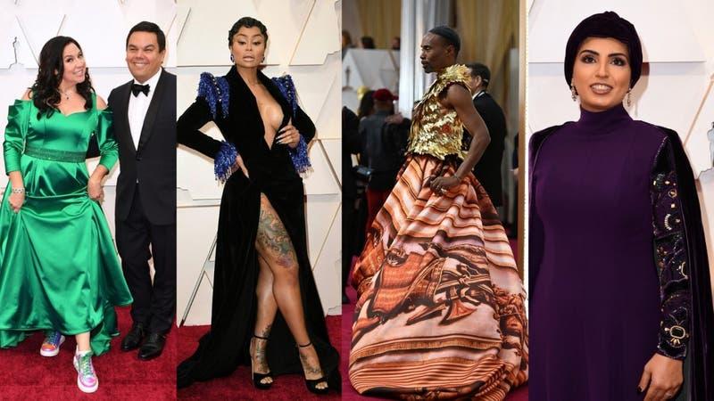[FOTOS] Oscar 2020: Revisa los más llamativos looks de la alfombra roja
