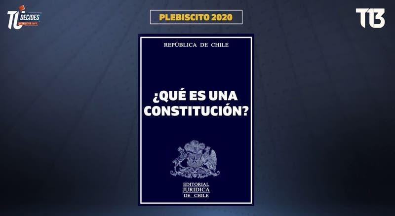 Plebiscito 2020: ¿Qué es una Constitución y para qué sirve?
