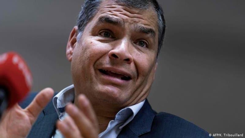 Piden pena máxima para expresidente Correa en Ecuador
