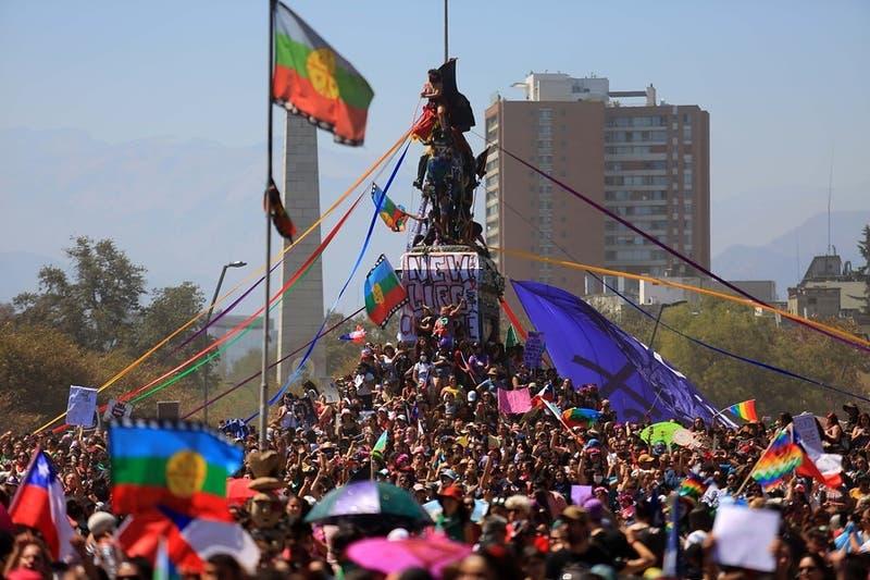 Coordinadora Feminista 8M cifra en cerca de dos millones de personas marcha en el Día de la Mujer