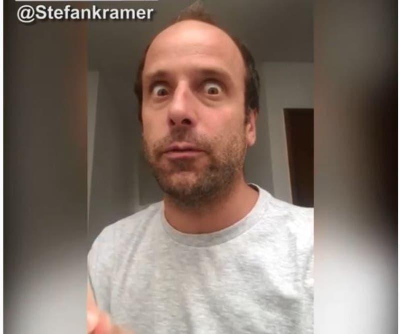 """""""Lávese las manos"""": Stefan Kramer se inspira en la Doctora Polo para enviar mensaje por el Covid-19"""