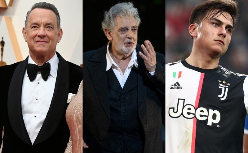 Artistas, deportistas y políticos: Los famosos contagiados con COVID-19
