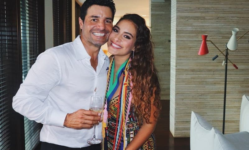 Hija de Chayanne sorprende en Instagram con su increíble voz en medio de la cuarentena
