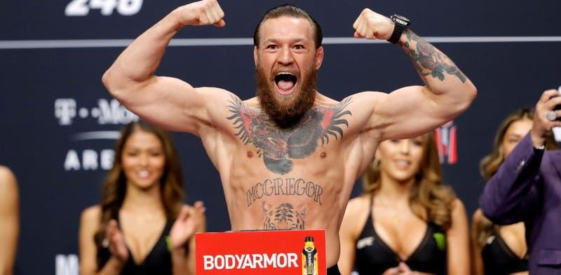McGregor dona un millón de euros para enfrentar el coronavirus