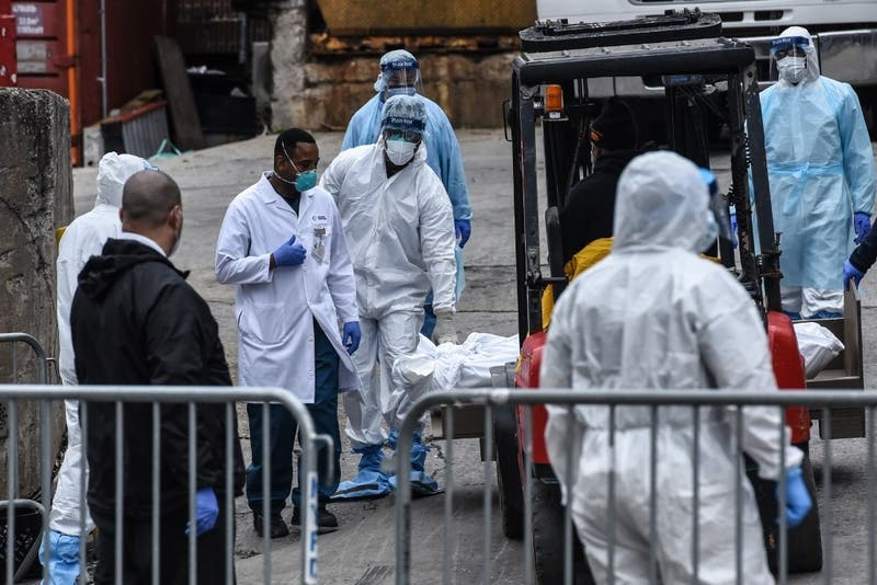 EEUU supera número oficial de muertos por coronavirus de China