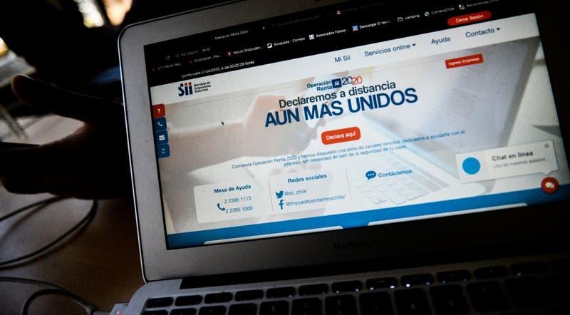 Aumentan en casi un 50% declaraciones en primer día de Operación Renta ante crisis por coronavirus