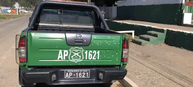 Dos carabineros heridos tras ataque después de allanamiento en Arauco